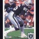 1992 Fleer Football #194 Mervyn Fernandez - Los Angeles Raiders