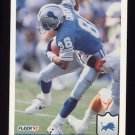 1992 Fleer Football #116 Willie Green - Detroit Lions