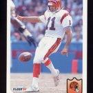 1992 Fleer Football #059 Lee Johnson - Cincinnati Bengals
