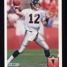 1992 Fleer Football #012 Chris Miller - Atlanta Falcons