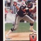 1992 Fleer Football #010 Mike Kenn - Atlanta Falcons