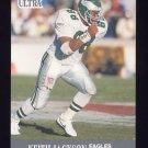 1991 Ultra Football #233 Keith Jackson - Philadelphia Eagles