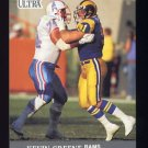 1991 Ultra Football #189 Kevin Greene - Los Angeles Rams