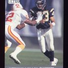 1991 Ultra Football #125 Anthony Miller - San Diego Chargers