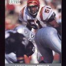 1991 Ultra Football #022 Leon White - Cincinnati Bengals