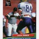 1992 Ultra Football #432 Aaron Pierce RC - New York Giants