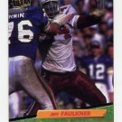 1992 Ultra Football #318 Jeff Faulkner - Phoenix Cardinals
