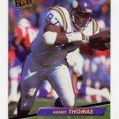 1992 Ultra Football #242 Henry Thomas - Minnesota Vikings