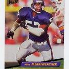 1992 Ultra Football #239 Mike Merriweather - Minnesota Vikings