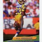 1992 Ultra Football #203 Flipper Anderson - Los Angeles Rams