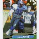 1992 Ultra Football #125 William White - Detroit Lions