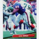 1992 Ultra Football #028 Leon Seals - Buffalo Bills