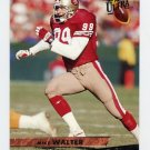 1993 Ultra Football #442 Mike Walter - San Francisco 49ers
