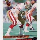1993 Ultra Football #438 Bill Romanowski - San Francisco 49ers