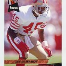 1993 Ultra Football #430 Adrian Hardy - San Francisco 49ers