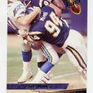 1993 Ultra Football #418 Chris Mims - San Diego Chargers