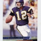 1993 Ultra Football #414 Stan Humphries - San Diego Chargers