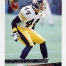 1993 Ultra Football #399 D.J. Johnson - Pittsburgh Steelers