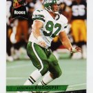 1993 Ultra Football #347 Coleman Rudolph RC - New York Jets