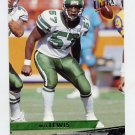 1993 Ultra Football #341 Mo Lewis - New York Jets