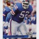 1993 Ultra Football #325 Pepper Johnson - New York Giants
