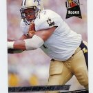 1993 Ultra Football #313 Willie Roaf RC - New Orleans Saints