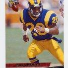 1993 Ultra Football #240 Darryl Henley - Los Angeles Rams