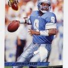 1993 Ultra Football #132 Rodney Peete - Detroit Lions
