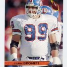 1993 Ultra Football #110 Shane Dronett - Denver Broncos