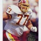 1994 Ultra Football #519 Tre Johnson - Washington Redskins