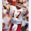 1994 Ultra Football #516 John Friesz - Washington Redskins
