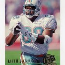 1994 Ultra Football #437 Keith Jackson - Miami Dolphins