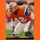 1994 Ultra Football #381 Leonard Russell - Denver Broncos Ex
