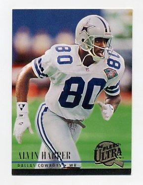 1994 Ultra Football #370 Alvin Harper Dallas Cowboys
