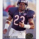 1994 Ultra Football #349 Shaun Gayle - Chicago Bears