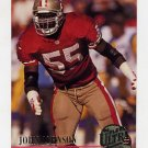 1994 Ultra Football #277 John Johnson - San Francisco 49ers