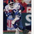 1994 Ultra Football #225 Dave Meggett - New York Giants