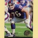 1994 Ultra Football #221 Jumbo Elliott - New York Giants Ex