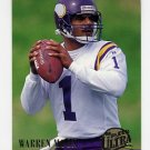 1994 Ultra Football #187 Warren Moon - Minnesota Vikings