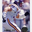 1994 Ultra Football #184 Jack Del Rio - Minnesota Vikings