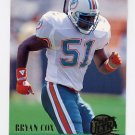1994 Ultra Football #176 Bryan Cox - Miami Dolphins