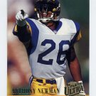 1994 Ultra Football #168 Anthony Newman - Los Angeles Rams