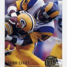 1994 Ultra Football #166 Todd Lyght - Los Angeles Rams