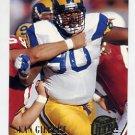 1994 Ultra Football #165 Sean Gilbert - Los Angeles Rams