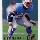 1994 Ultra Football #123 Bubba McDowell - Houston Oilers