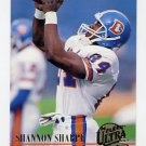 1994 Ultra Football #090 Shannon Sharpe - Denver Broncos