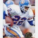 1994 Ultra Football #088 Glyn Milburn - Denver Broncos
