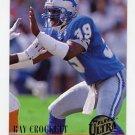 1994 Ultra Football #082 Ray Crockett - Denver Broncos