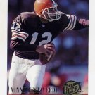 1994 Ultra Football #064 Vinny Testaverde - Cleveland Browns
