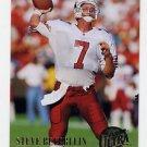 1994 Ultra Football #001 Steve Beuerlein - Arizona Cardinals